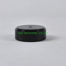 1pc 58x22mm Black aluminum feet HIFI pad Chassis DIY Headphone Amplifier Speaker DAC CD Audio nuforce icon dac black