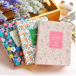 جديد وصول لطيف بو الجلود الزهور زهرة جدول كتاب مذكرات مخطط الأسبوعي دفتر المدرسة مكتبية Kawaii القرطاسية