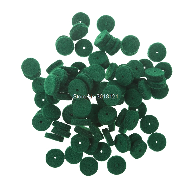 Fee Shipping 90pcs Piano Regulating Tool Hitch Pin Felt Balance Rail Punchings For Repairing