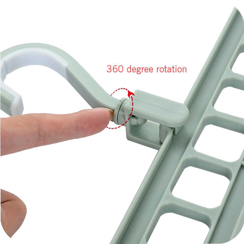 Multi-porta Círculo de Apoio Roupas Cabide de Secagem Rack De Armazenamento Multifuncional Cachecol Cabides Cabides de Plástico Prateleiras