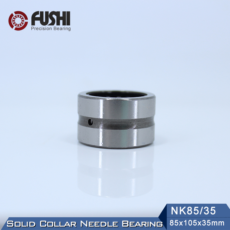 NK85/35 Bearing 85*105*35 mm ( 1 PC ) Solid Collar Needle Roller Bearings Without Inner Ring NK85/35 NK8535 Bearing sce2020 bearing 31 75 38 1 31 75 mm 1 pc drawn cup needle roller bearings b2020 ba2020z sce 2020 bearing
