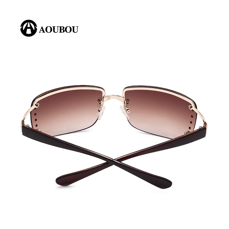 Vintage randlose sonnenbrille frauen luxus diamant design weißes - Bekleidungszubehör - Foto 5
