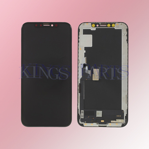 Image 2 - Original OEM 1:1 คุณภาพสำหรับ iPhone XS จอแสดงผล LCD Digitizer OLED/TFT Face Recognition ดี 3D