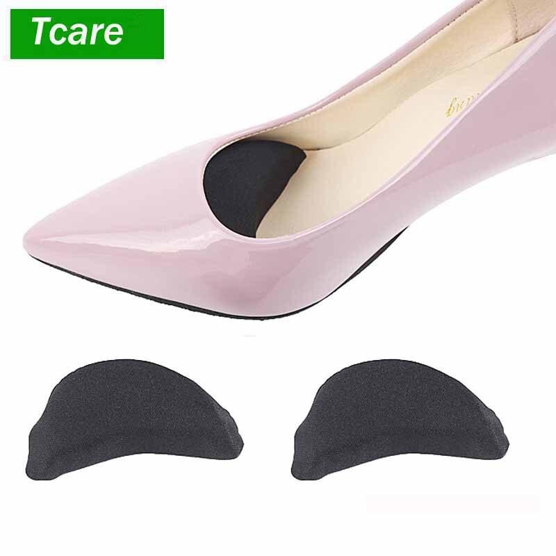 2 пара/лот Уход за ногами Губка для обуви стельки для обуви подушке вставки Pad стельки Toe Кепки отрегулировать обувь аксессуары высокой пятки...