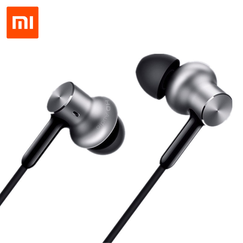 ФОТО Xiaomi Mi Hybird Pro In-ear Earphones 3.5mm Dynamic Balanced Armature Triple Driver Volume Control for Android Phone Earphone