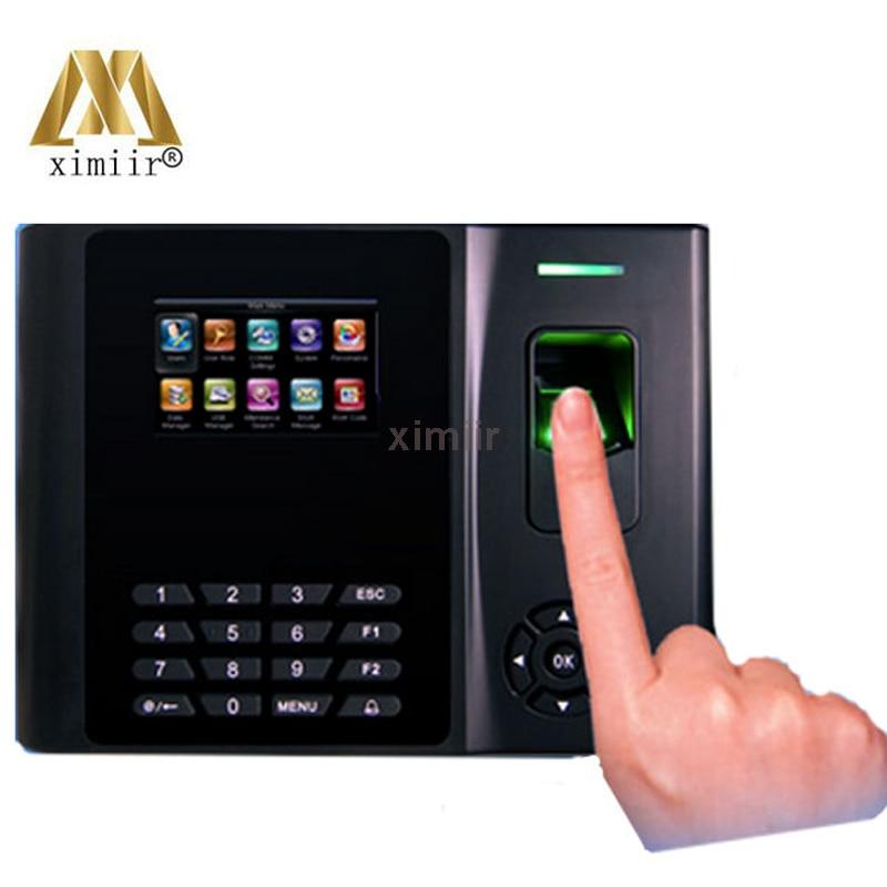 Biometric Fingerprint Reader XM200 Fingerprint Time Attendance With Backup Battery Optional Card Reader ,GPRS, WIFI