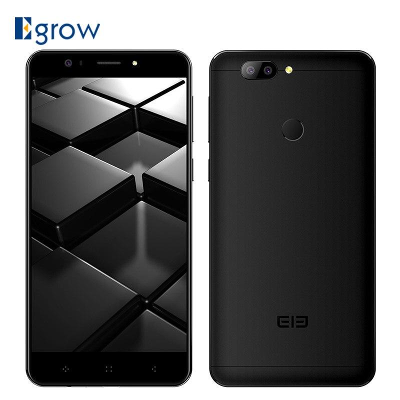 Elephone P8 3D 13MP Двойной смартфон с камерой 5,5 ''Android 7,0 4 ГБ 64 ГБ mt6750t восемь ядер Mobile 4050 мАч сотовые телефоны с идентификацией по отпечатку пальца