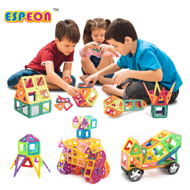2017 Espeon Toy 17-29PCS Kids Toys Plastic Educational Toys Airplane Robot Kit Magnetic Building Blocks Models Brick Normal Size tri fidget hand spinner triangle metal finger focus toy adhd autism kids adult toys finger spinner toys gags