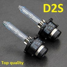 super high quality 6000k D2S xenon  bulb UV free quartz glasses tube 35W hid Headlight