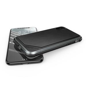 Image 5 - X ドリア防衛ルクス電話ケース iphone XS × ミリタリーグレードテストアルマイトアルミ保護ケースカバー iphone ×
