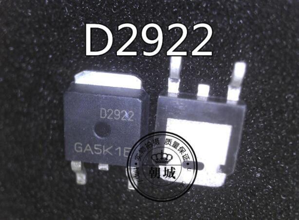 1PCS  AOD2922 D2922 100V 5A  TO-252 Integrated Circuit