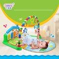Multifunções Piano de Rack de Fitness Com Música Chocalho Do Bebê recém-nascido Infantil Esteira do Jogo Atividade Crianças Brinquedos Educativos