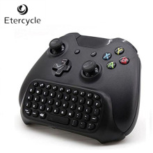 New arrival 2.4G Mini Wireless Chatpad Message Keyboard for Microsoft Xbox One Controller kobwa 2 4g mini wireless gamepad keyboard for microsoft xbox one s control message game keyboard joystick control for game