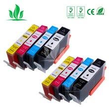 8 шт 364XL картридж совместимый для HP364 364 XL Photosmart Беспроводной B109a B109d B109f B109n плюс B209a B209c B210a принтер