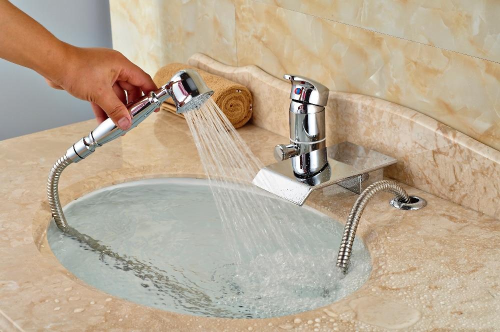Comprar Montado cubierta de latón cromado baño grifo de la bañera 3 unids desviador con pulverizador de mano de bathroom tub faucet fiable proveedores en fmhjfisd Official Store