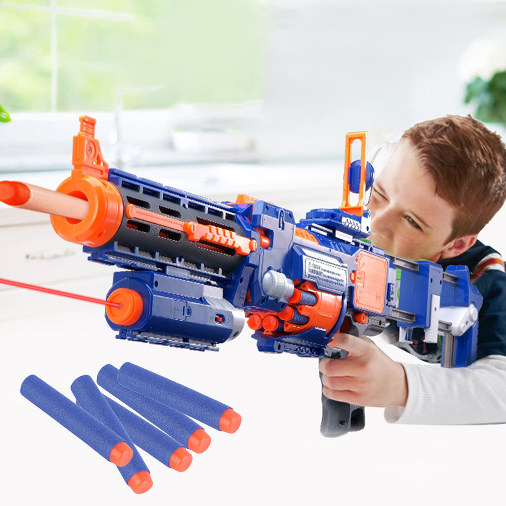 Buy 10 Dart Rapid Fire Nerf Gun - Multicolor at Online Shopping Store |  Farjazz.pk