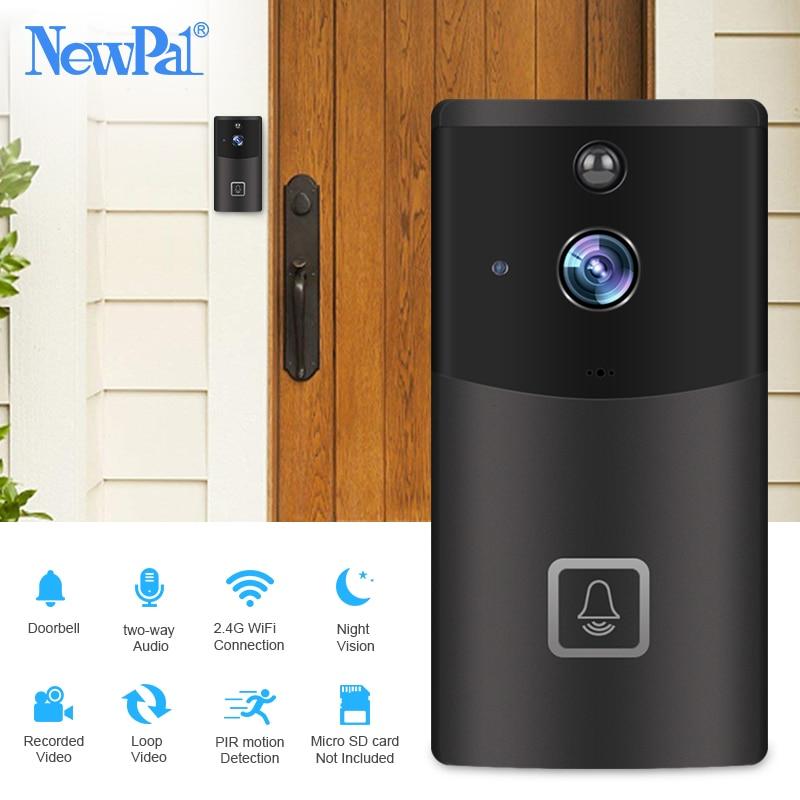 WiFi Doorbell Camera Wireless Video Intercom Visual Call Door Bell Camera Home Security 720p Chime Ring
