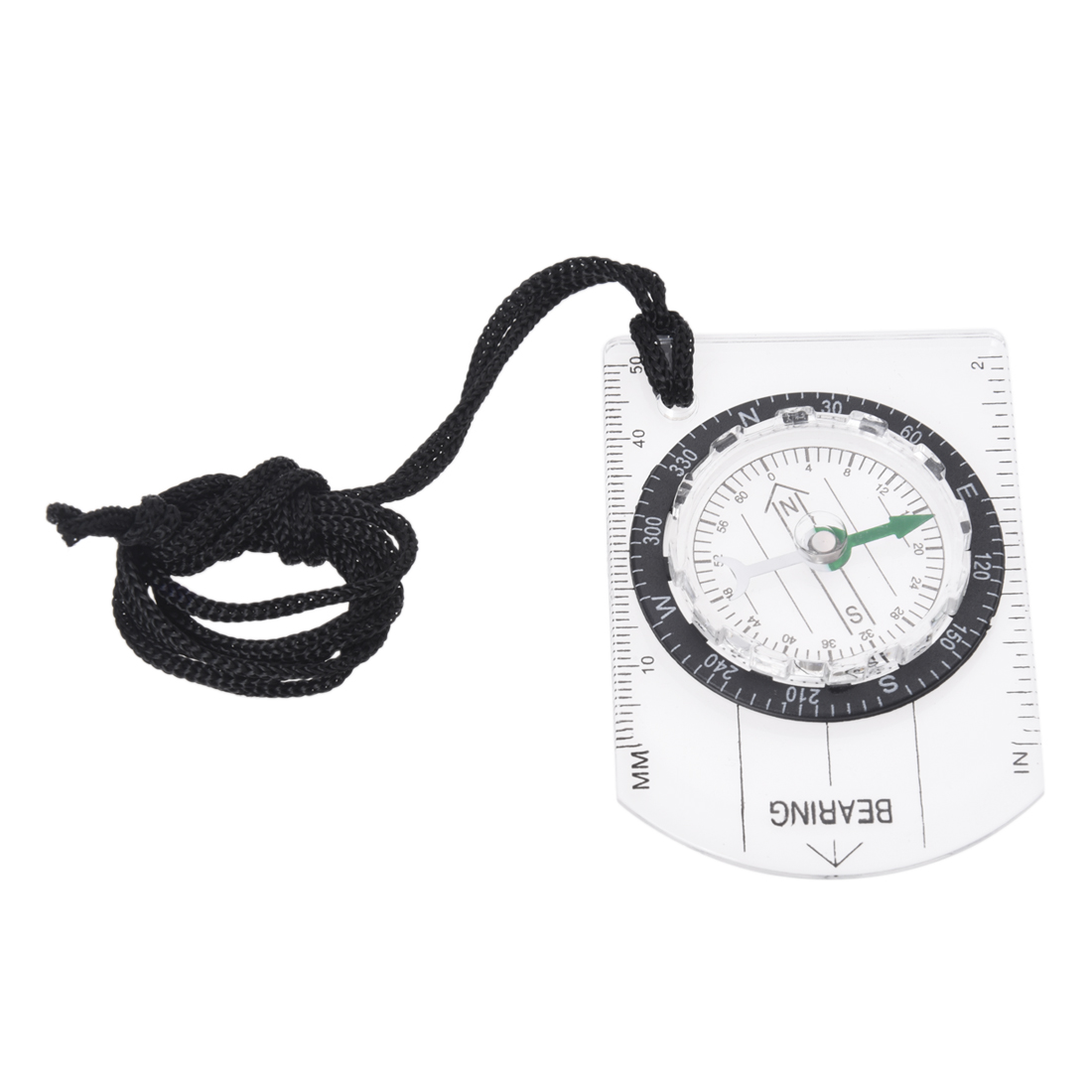 Wholesale! Mini Compass Army Scouts Hiking Camping Outdoor Boating Map Reading Orienteering