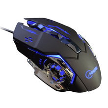 G502 Wired Gaming Mouse 6 Buttons 3200 DPI Optical USB Rechargeable Game Ergonomic Computer Gamer Mouse For Desktop Laptop