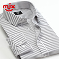 2015 men shirt for men long sleeve business solid shirt office camisa masculinas social shirts brand male slimming formal white