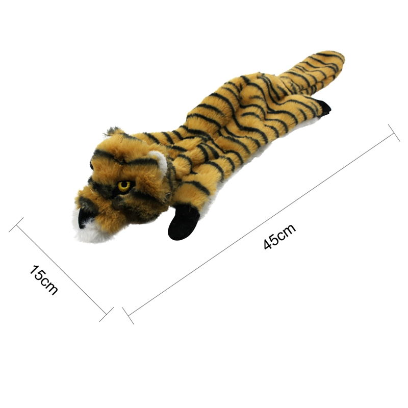 Cute Plush Toys Squeak For Dogs Chew Squeaker Pet Squeaky Animal Shaped Toy Squirrel  Dog Cat Toy Pet Supplies 22