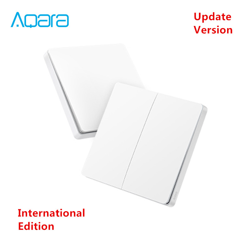 [ Inernational Edition ] xiaomi Mijia Aqara wireless key Update version ,ZigBee Switch Smart Sensor for Mi home App 2018 Newwst[ Inernational Edition ] xiaomi Mijia Aqara wireless key Update version ,ZigBee Switch Smart Sensor for Mi home App 2018 Newwst