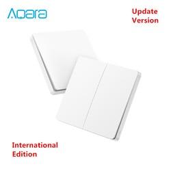 [ Inernational Edition ] xiaomi Mijia Aqara wireless key Update version ,ZigBee Switch Smart Sensor for Mi home App 2018 Newwst