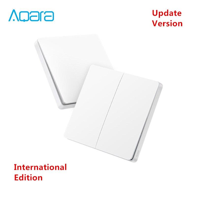 [Inernational Edition] xiaomi mi jia Aqara wireless key Update version, zigBee Schalter Smart Sensor für mi hause App 2018 Newwst