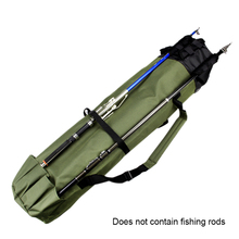 Fishing Portable Multifunction Nylon Fishing Bags Fishing Rod Bag Case Fishing Tackle Tools Storage Bag цена