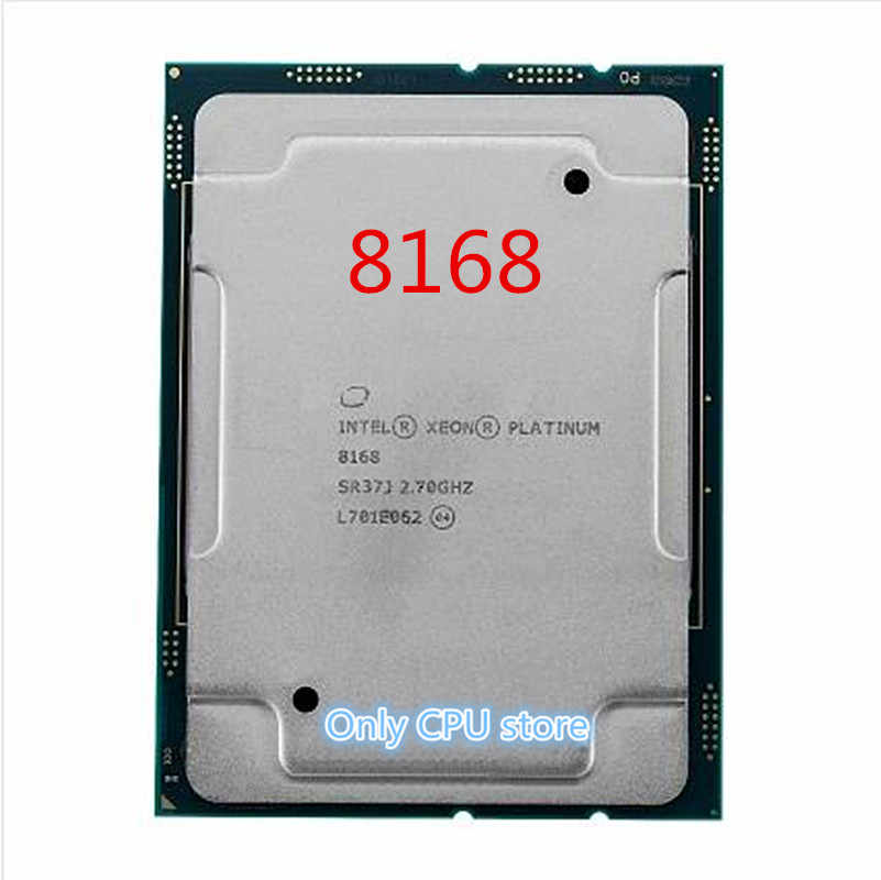 Scalable Processors Platinum 8168 2.7GHz 24 Core Intel Xeon CPU