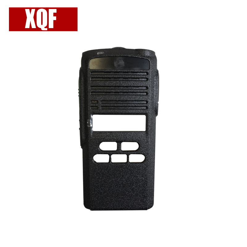 XQF New Black Front Outer Case Housing Cover Shell For Motorola CP1300 Radio