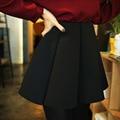 Оптовой 2016 весна империя талии качели подол короткой юбке женские юбки