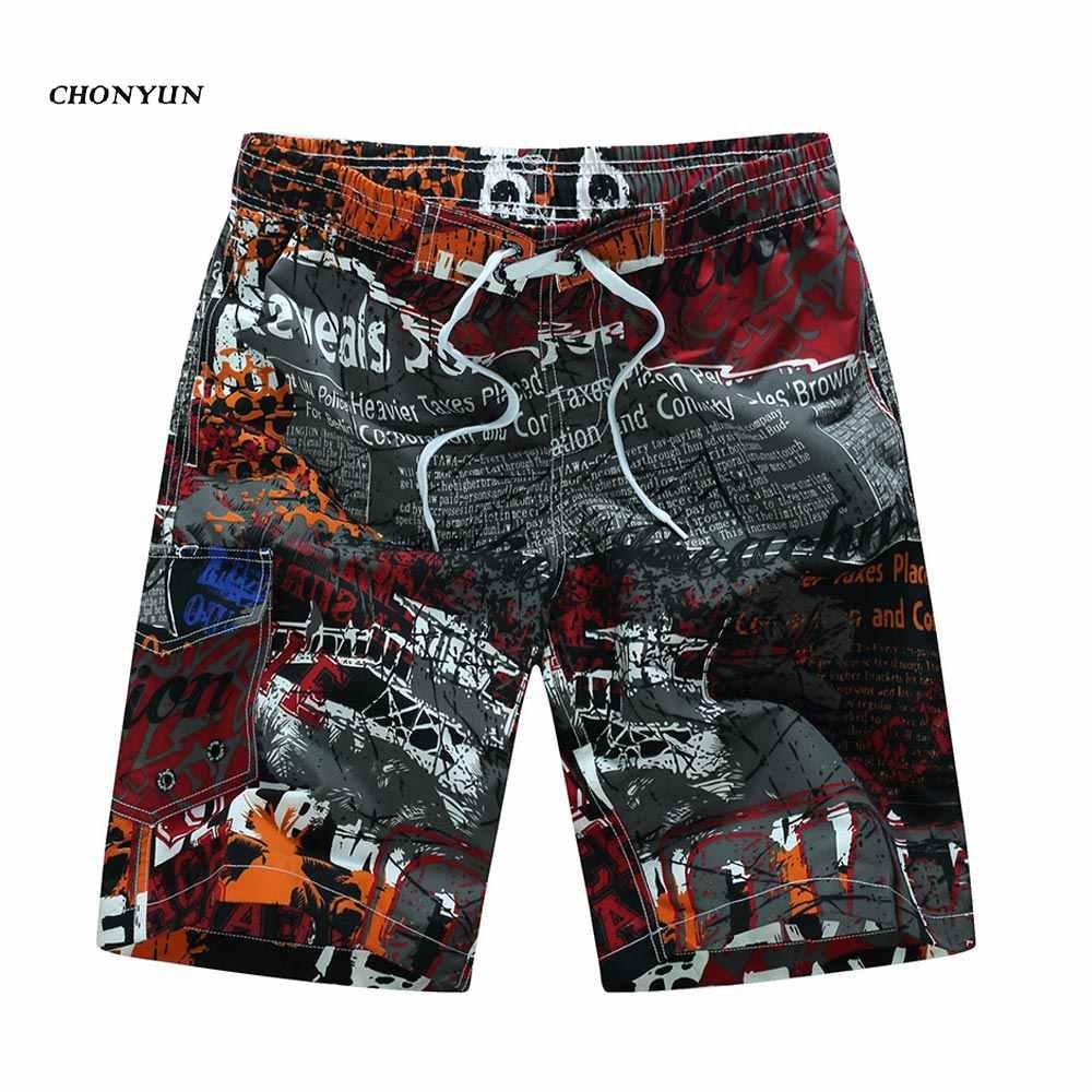 3950d5a329 ... Hawaii Hot Sale Men's Beach Shorts Quick Dry Swimming Wear Homme  Bermuda Summer Board Shorts Print ...