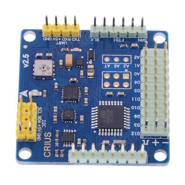 CRIUS MultiWii Standard Edition Flight Controller MWC SE v2.6 for Quadcopter F450 F550 2-axis Gimbal