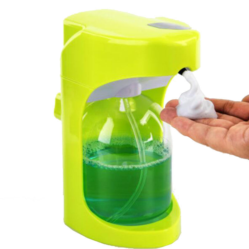 Mounted 500ml Intelligent foam cleanser Automatic induction foam soap dispenser smart to soap box wall hang Applicable to family kitpag47436wns101 value kit procter amp gamble professional foam hand soap dispenser pag47436 and windsoft 101 bleached white embossed c fold paper towels wns101