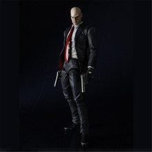 Haocaitoy PA Figures  Hitman Assassin Game Dolls Variant Figure Doll Ver. PVC Action Figures Collectible Model Toys 23cm все цены