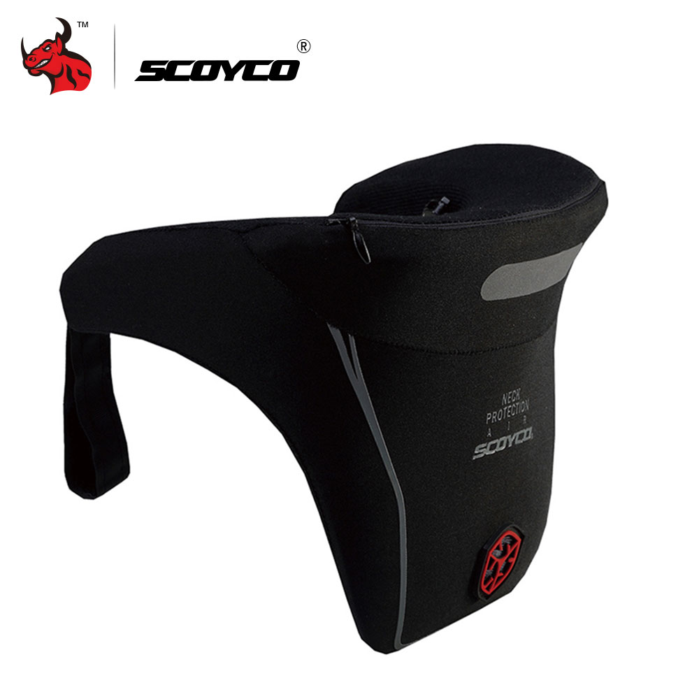 mama cao 's store SCOYCO Motorcycle Riding Neck Protector Enduro Rally Racing Protective Gear Support Motocross Off-Road DH ATV Neck Guard Brace