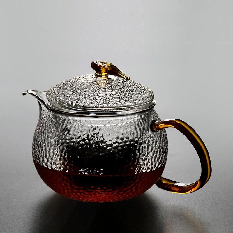 Стекло чайник воды Стекло чайник фильтр из нержавеющей стали высокая термостойкость бытовой чайник ch-14
