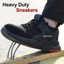 1 пара тяжелых кроссовок защитная Рабочая обувь дышащие противоскользящие проколы для мужчин FH99