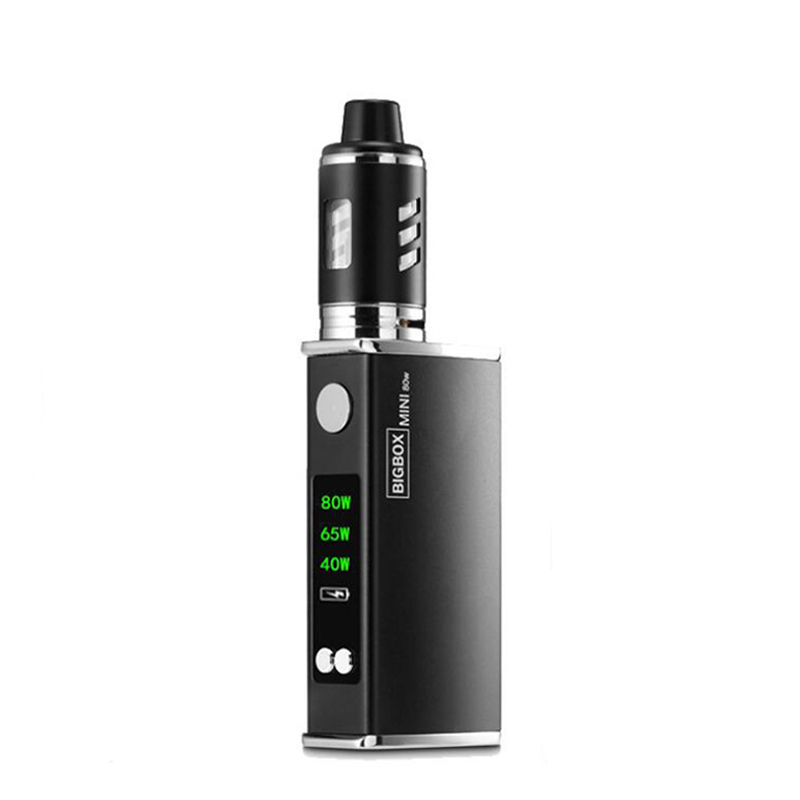 Mise à niveau de la Cigarette électronique 40 W-80 W kit de boîte mod vape réglable 2200 mah 0.5ohm batterie 2.8 ml réservoir e-cigarette atomiseur vapeur
