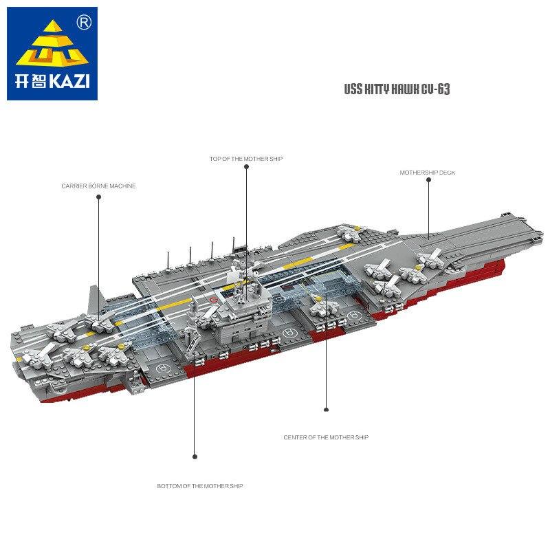 1868 sztuk granatowy wojskowy pancernik Bismarck klocki statek cegły budowlane okręt wojenny hobby LegoINGLs zabawki dla dzieci w Klocki od Zabawki i hobby na  Grupa 2