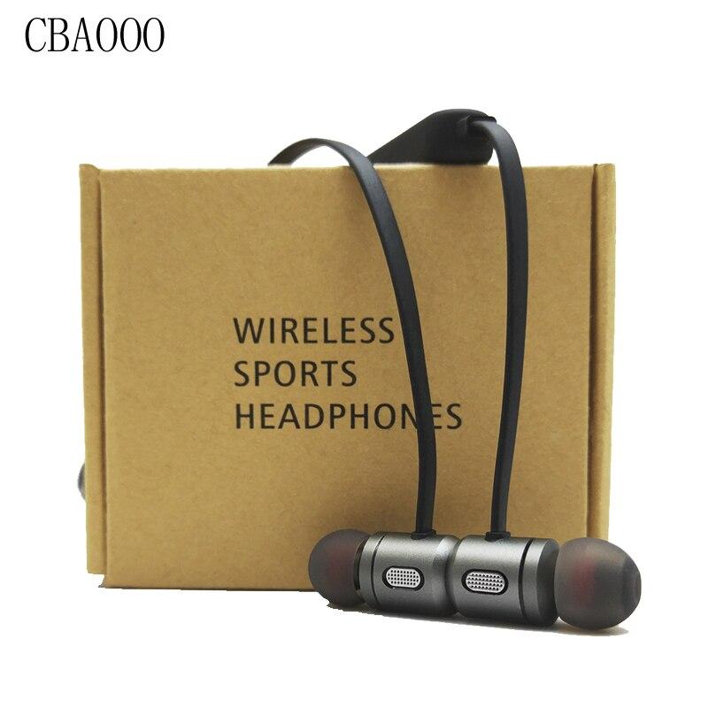 Cbaooo Спорт Беспроводной Bluetooth наушники гарнитуры Магнитная Bluetooth 4.2 стерео наушники Наушники с микрофоном для телефона Auriculares