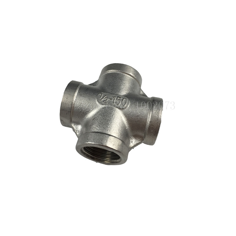 New Stainless Steel 304 Cross Thread Pipe Fitting - 12BSP, Homebrew Hardware, Pump fitting (8)