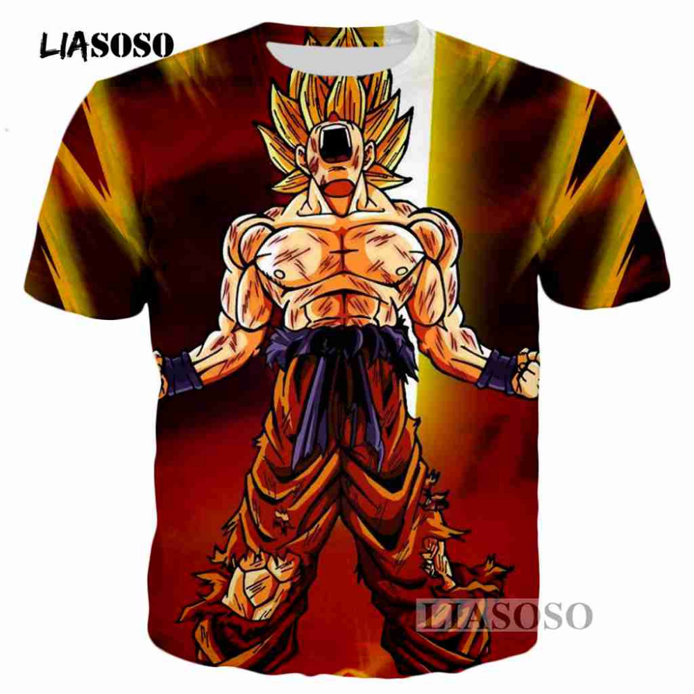 52f112cffd US $9.65 25% di SCONTO|LIASOSO Anime Dragon Ball Z Sexy bellezza Bulma  Stampa T Shirt moda Uomo Donna Anime t shirt estate Harajuku parti  superiori ...