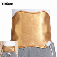 YihCare Warm Heating Waist Massager Back Support Belt Waist Electric Vibration Protection Waistband Lumbar Vertebra Massage Belt