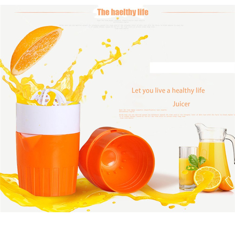 New Arrival Mini Hand Press Juicer Cup Household Manual Juice Bottle Mini Travel Fruit Squeezer Machine Extractor Hand Press Cup image