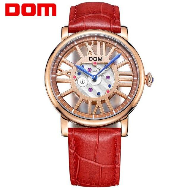 ФОТО Fashion Women Rhinestone Watches Quartz Female Watch Leather Luxury band Casual Dress Rose Gold Watch Women Relojes Mujer 2017