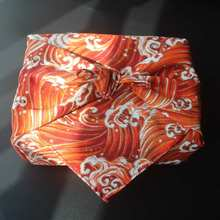 Cloth Linen Japan-Wrap Tradition-Style Furoshiki/japan Cotton The Printed Classic Wave-Printed/many-Uses