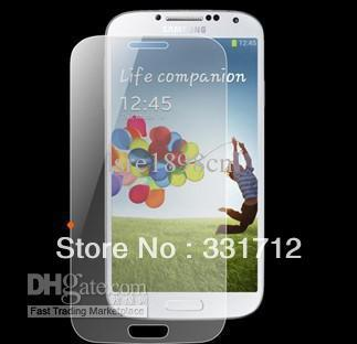 Tempered Glass Screen Guard Film Protector Shatter & Scratch-Proof for Samsung i9500 S4
