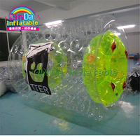 0.9mm PVC Tarpaulin Inflatable Wate Roller for Water Park Adults N Children Human Hamster Ball Min. Order: 1 Piece